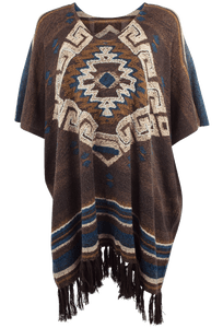 Double D Ranch La Serena Poncho - Front