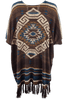 Double D Ranch La Serena Poncho - Back