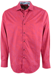 Robert Graham Seaway Red Shirt - Front