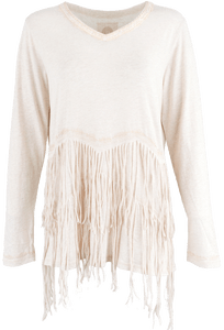 Double D Ranch Franja Top - Front