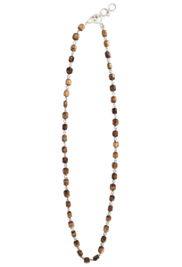 Coreen Cordova Brown Bone Necklace