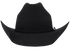 Bullhide Kingman Jr. Little Cowboy Hat - Black - Front