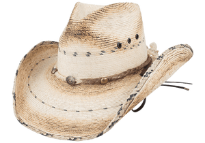 Bullhide 15X Running Iron Straw Hat - Hero