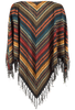 Double D Ranch Les Gauchos Poncho Top - Back