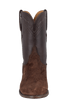 Lucchese Men's Chocolate Hippo Roper Boots - Front