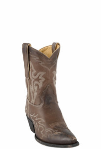 Liberty Boot Co. Women's Brown Santa Fe Nueva Dos Boots - Hero