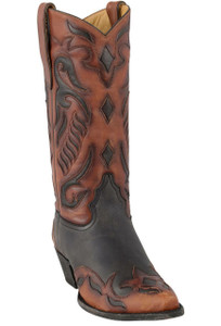 Liberty Boot Co. Women's Suzie Q Back in Black Boots - Hero