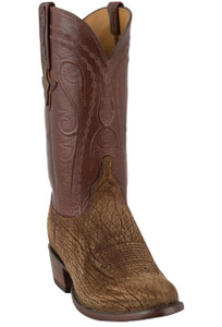 Lucchese Men's Tan Hippo Boots - Hero