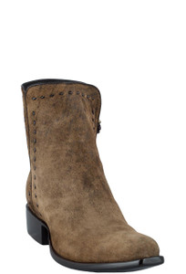 Stallion Men's Zorro Euro Vintage Lamb Ankle Boots - Hero