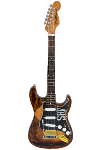 Gift - Stevie Ray Vaughan Mini Guitar
