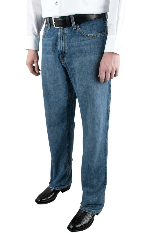 Cinch White Label Relaxed Fit Medium Stonewash Jeans