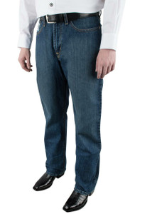 Cinch White Label Relaxed Fit Dark Stonewash Jeans