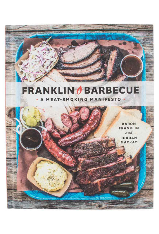 "Cookbook ""Franklin Barbeque: A Meat-Smoking Manifesto"""