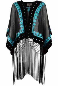 Rojas Seville Poncho - Front