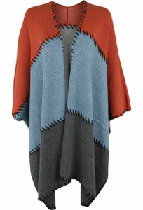 Project Whipstitch Poncho - Front
