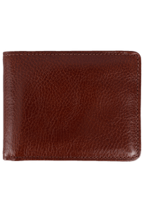 Leather Carnegie Passcase - Brown - Front