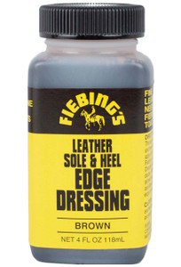 Leather Sole and Heel Edge Dressing - Brown