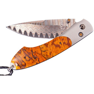 William Henry Spearpoint Beech Wood Pocket Knife