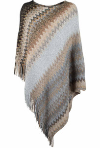 Mechant Missoni Poncho - Front