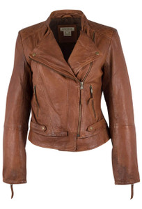 Stetson Lamb Leather Jacket with Quilting - Front