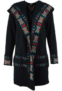 Paparazzi Aztec Sweater Coat - Front