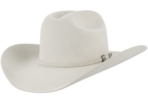 Resistol 6X George Strait Collier Felt Hat - Silver Belly