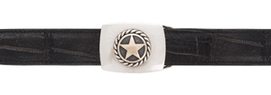 "Randall Moore Scout with Gold Star 1 1/4"" Trophy Buckle"