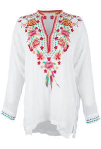 Johnny Was Blossom Blouse - Front