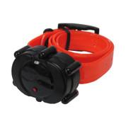 D.T. Systems Micro-iDT Remote Dog Trainer Add-On Collar Black Orange (IDT-ADDON-O)