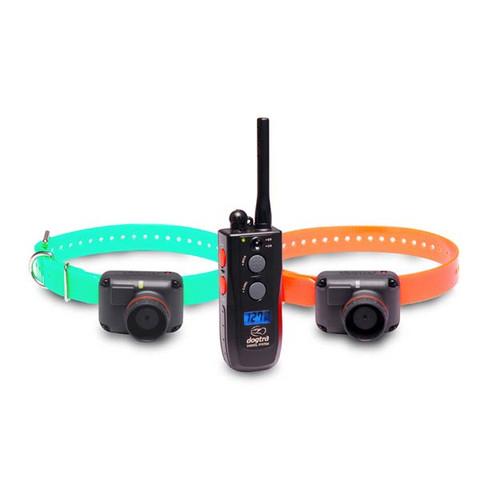 Dogtra 2502TB Training and Beeper 1 Mile 2 Dog Remote Trainer Black / Orange (2502TB)