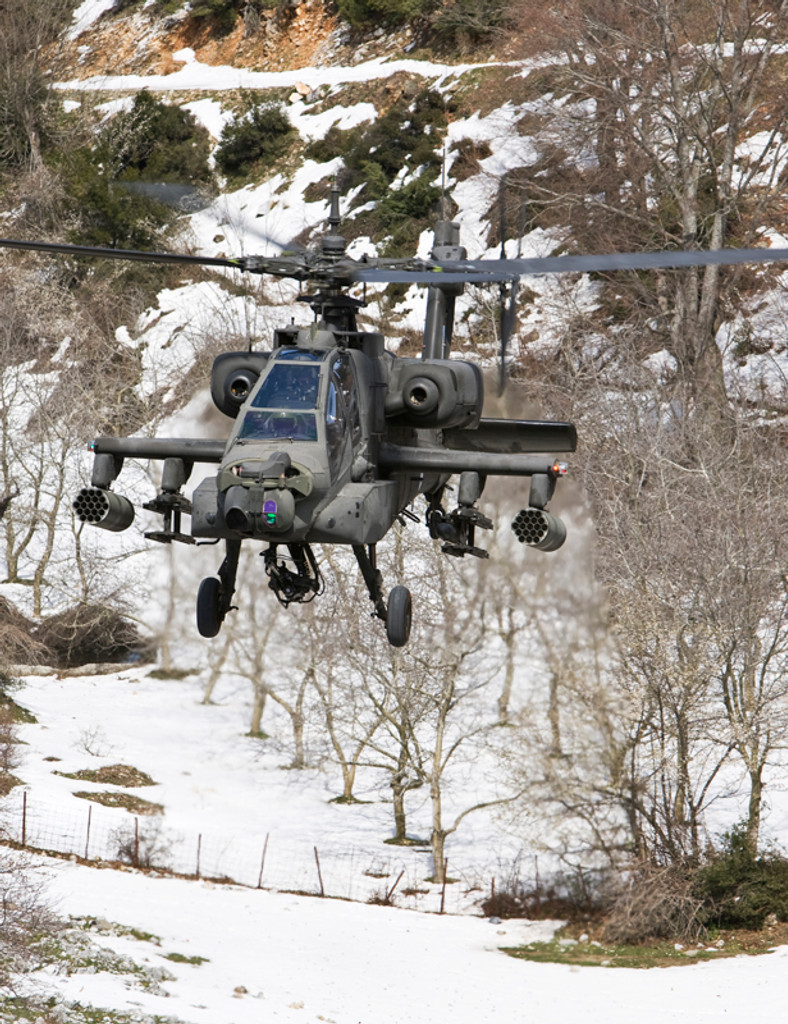 AH-64DHA  APACHE  10 years 2nd Attack Helicopter Battalion