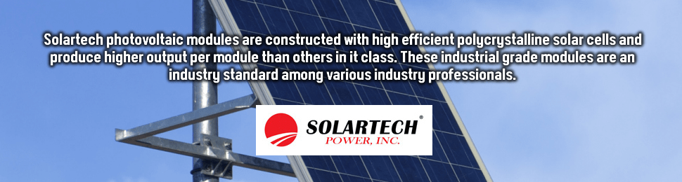 Solartech Power is a leader in industrial solar panel products.