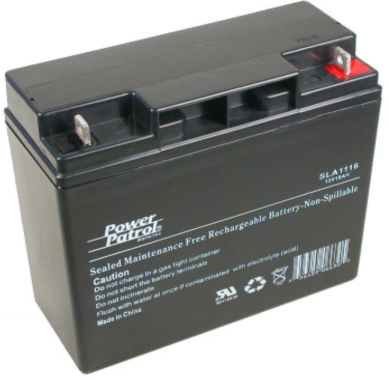 interstate sla1161 12v 44ah agm battery