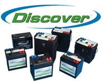 Discover 215Ah 12V Tubular Flooded Battery