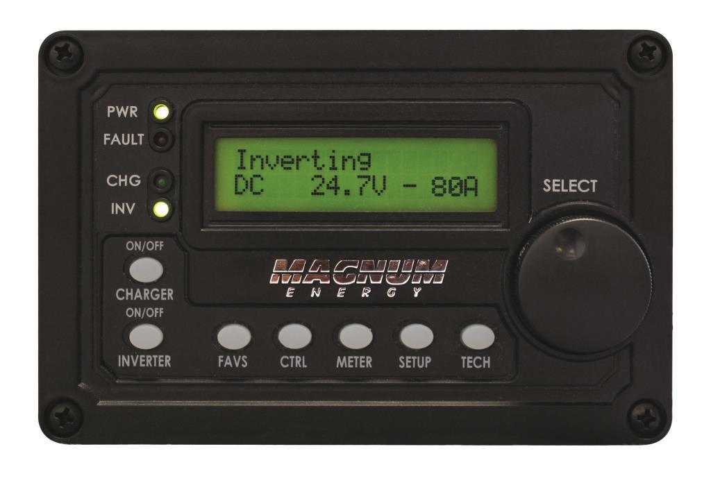 Digital Display Panel : Magnum advanced digital lcd display remote panel