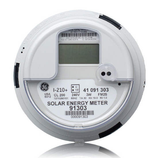 how to read solar inverter meter