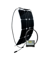 GO POWER! 30W Solar Flex Kit w/ 10A Digital Controller