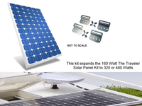 The Traveler EK 160 Watt Expansion Kit (for The Traveler Solar Panel Kit)