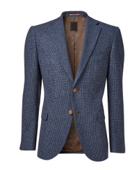 Mens Blue Blazer Jacket