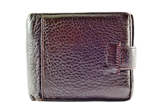 Brown Snake Skin Wallet