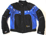 "Rukka Gore-Tex Motorcycle Jacket In Blue/Black- Euro 50 - UK 38/40"" Chest"