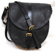 Mulberry Saddle  Handbag in Scotchgrain Leather