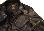 "Hein Gericke Leather Original Classic Spitfire Jacket. Size Euro 46 38"" Chest"