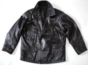 "Hein Gericke Leather Original Brown Soft Leather Jacket Size M 38"" Chest"