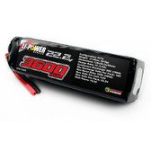 Venom 3600Mah 50C 6S 22.2V Li-Po Battery No Plug