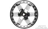 "Desperado 2.8"" (Traxxas Style Bead) Chrome Wheels 2PCS"