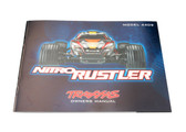 Traxxas Nitro Rustler Owners Manual 4499R