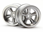 HPI 3820 - Vintage 5 Spoke Wheel 31mm Matte Chrome 6mm Offset