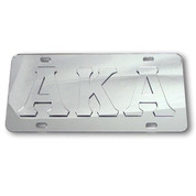Platinum Series Tag with Raised Letters
