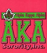 AKA Pink Sorority Inc. T-shirt